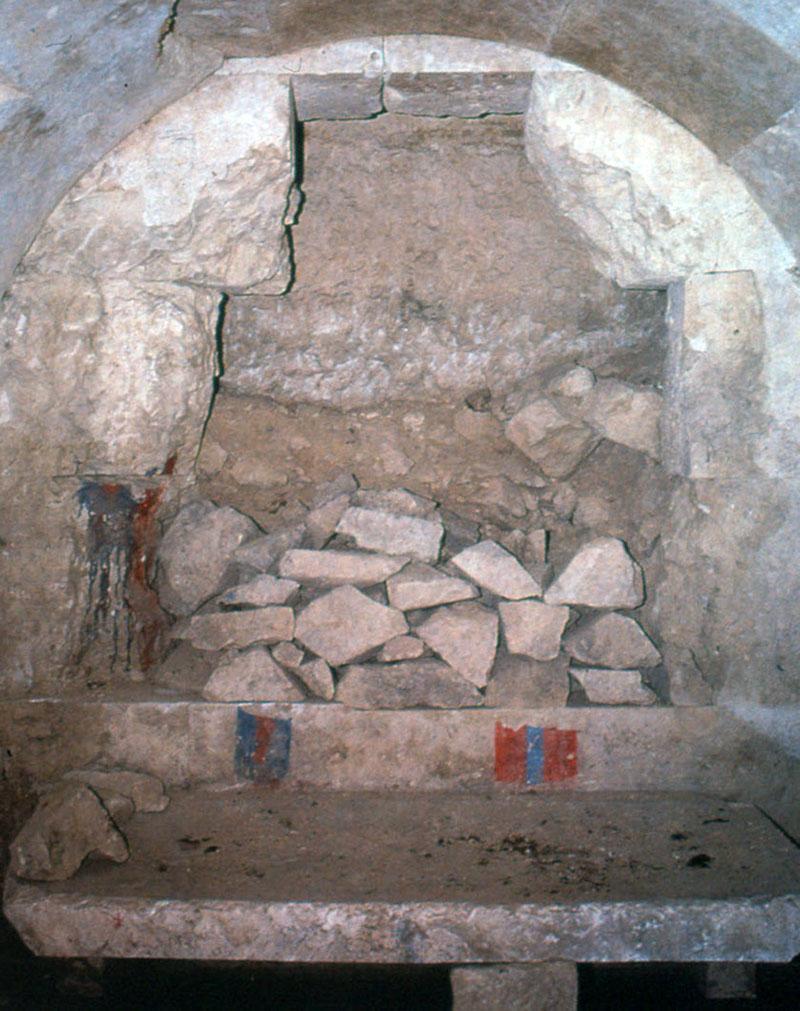 A feltört hercegnői sír Törökországban