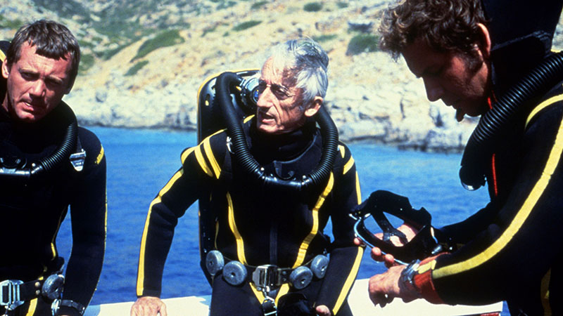 Cousteau a Calypso fedélzetén