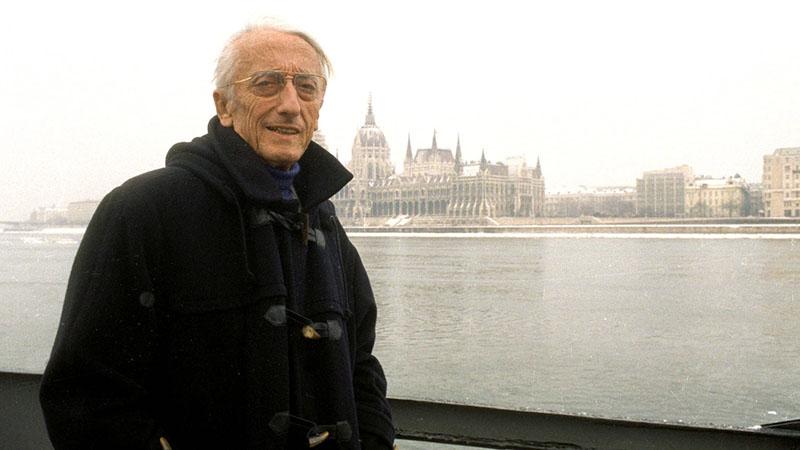 Cousteau kapitány Budapesten