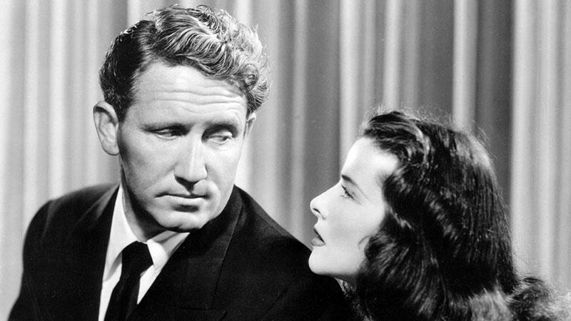 Egy sírig tartó szerelem, Tracy és Katharine Hepburn