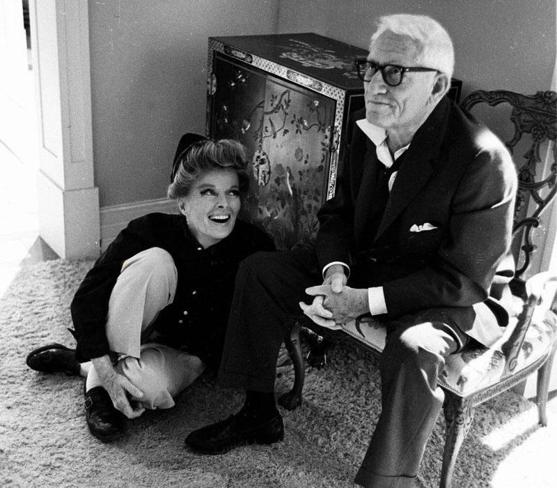 Hepburn és Tracy 1967-ben
