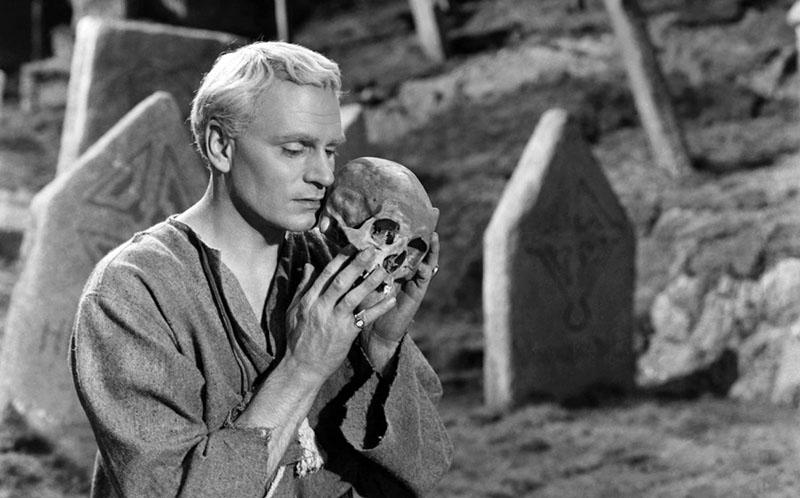 A Hamlet címszerepében