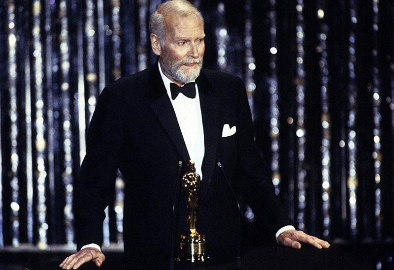 Az életmű Oscar-díj átvételekor