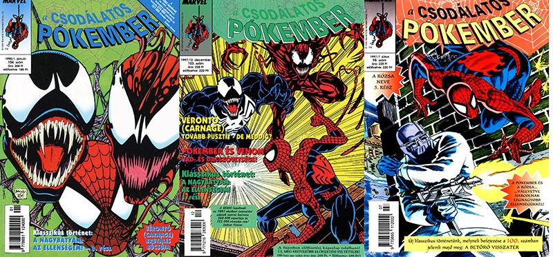 Az eredeti sorozat itthon 1989 és 1999 között 127 lapszámot élt meg