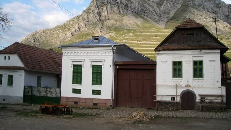 A torockói parasztházak