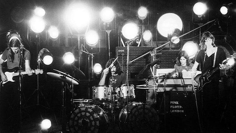 A Pink Floyd a színpadon