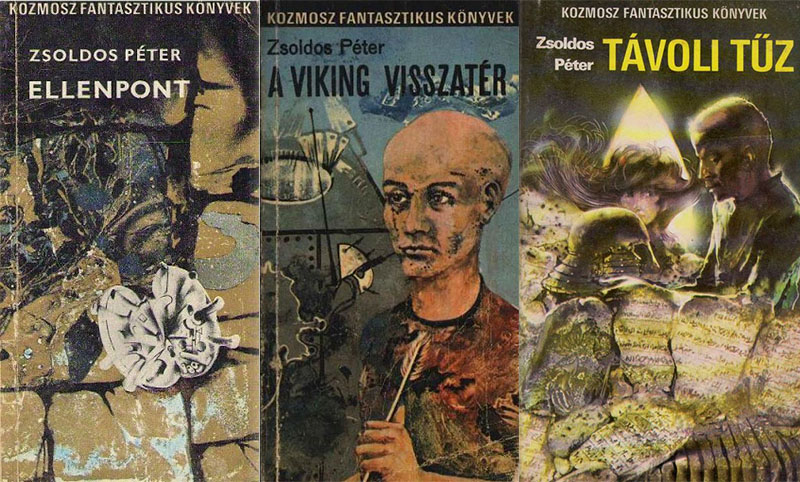 Zsoldos regények a Kozmosz Fantasztikus Könyvek sorozatban