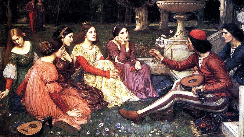 John William Waterhouse: Decameron