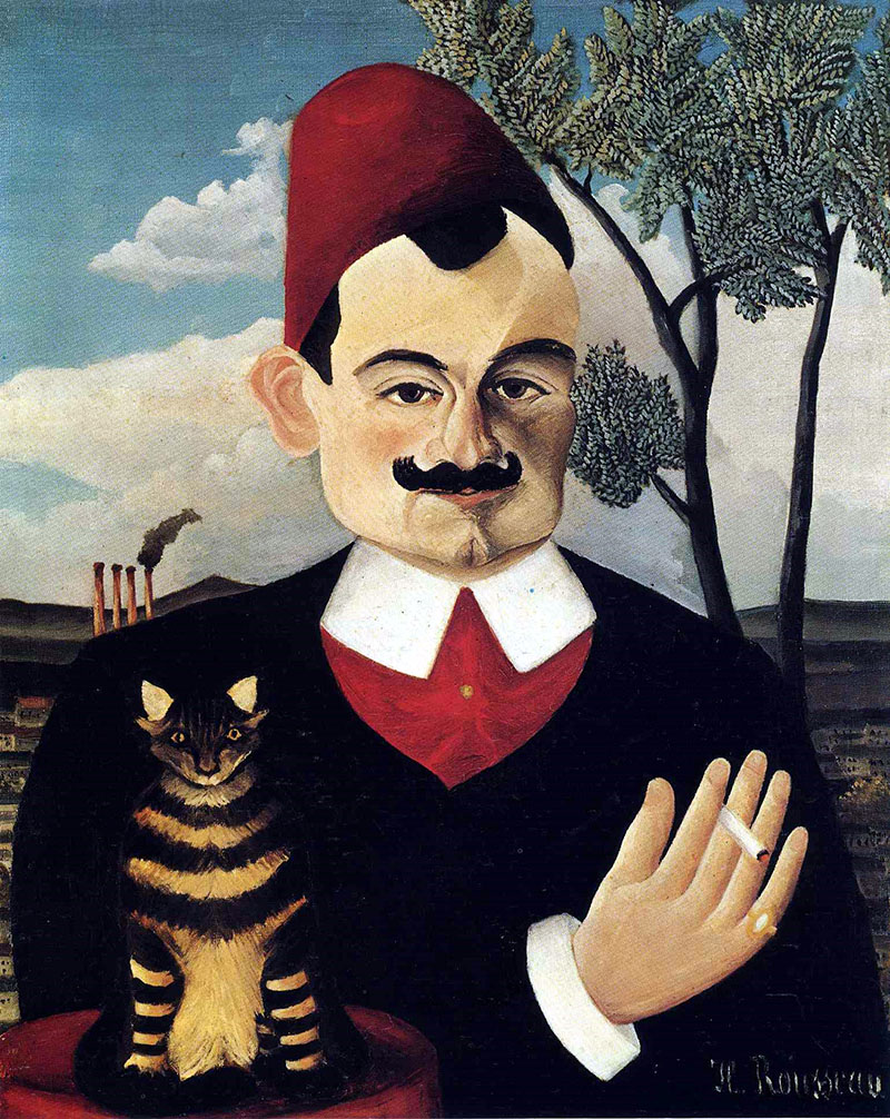 Henri Rousseau: Pierre Loti portréja