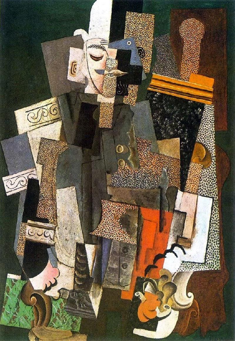 Picasso: Keménykalapos ember