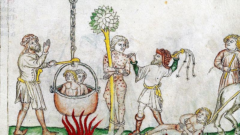 A bűnös megfőzése a középkorban