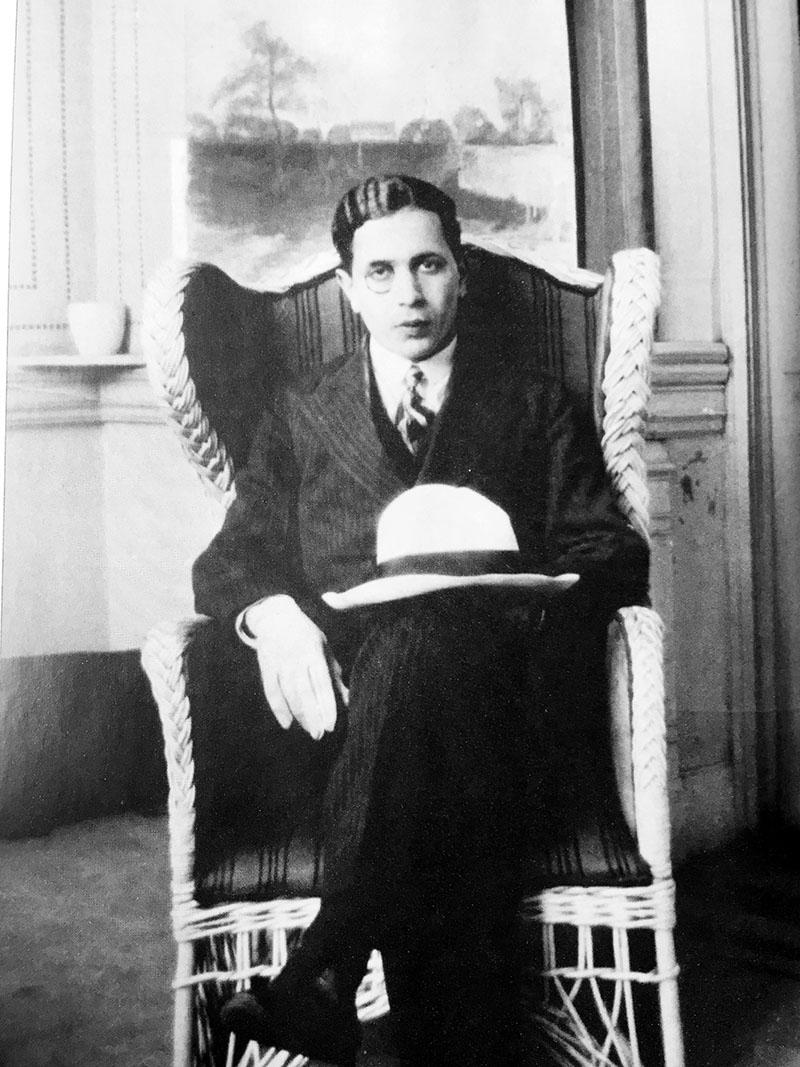 A fiatal Faludy György