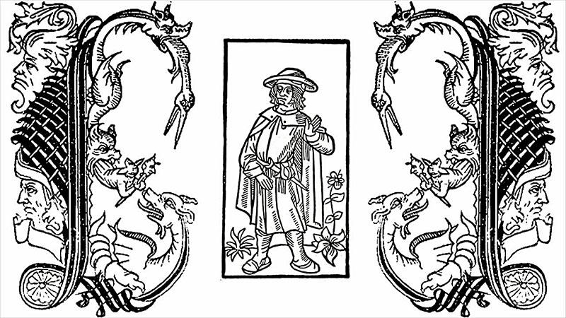 A Nagy Testamentum illusztrációja 1506-ból