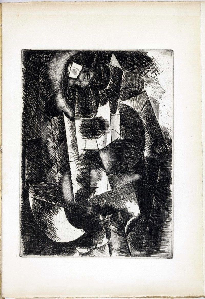 Picasso: Meztelen nő gitárral