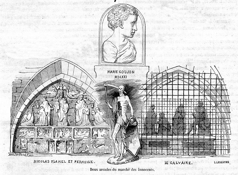 Nicolas Flamel árkádja