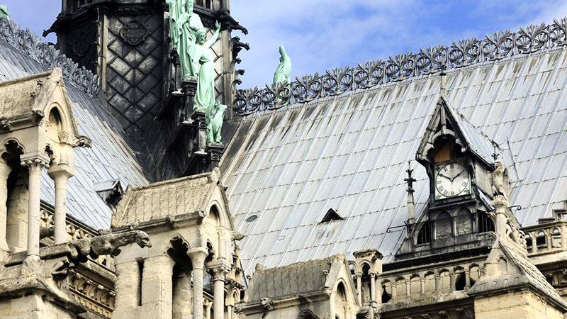 A Notre-Dame egyik órája