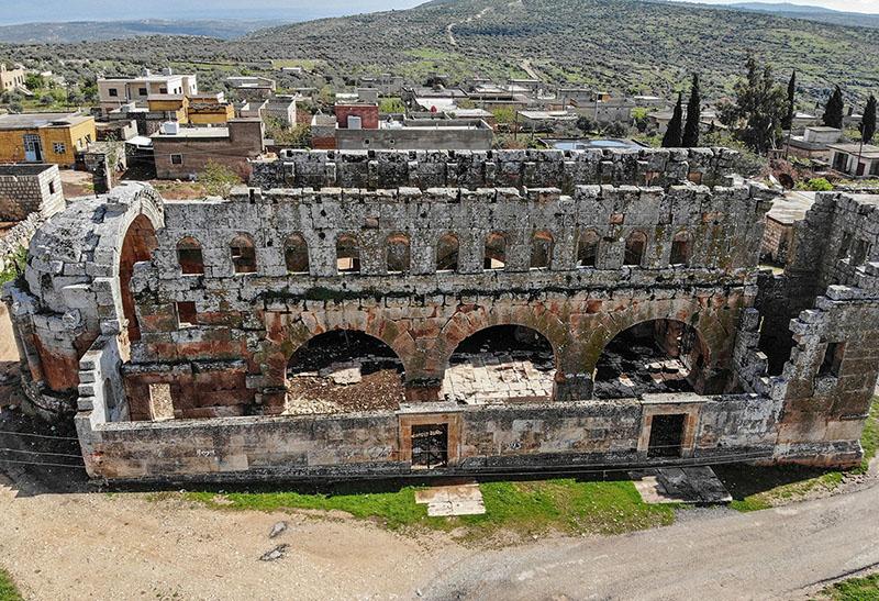 Qalb Lozeh szír temploma