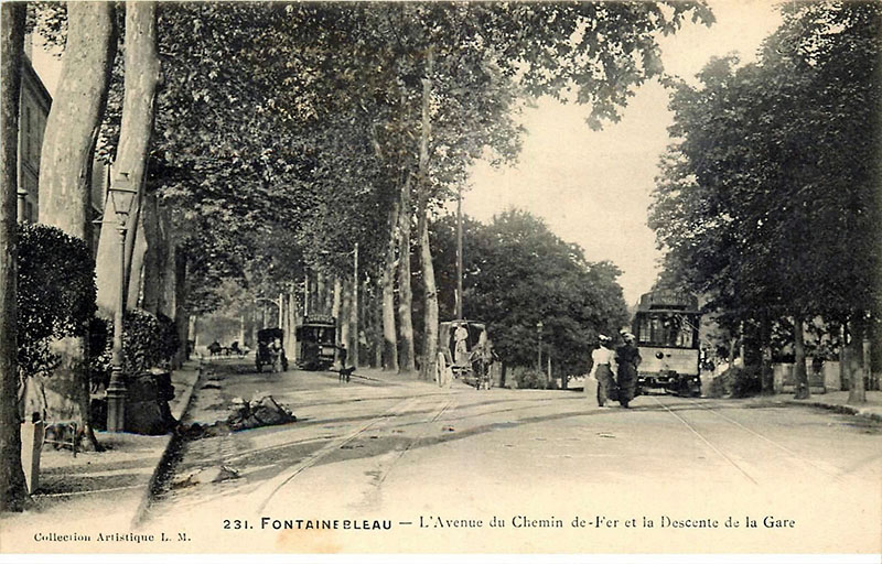A korabeli Fontainebleau