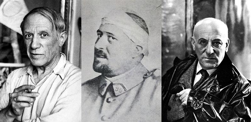 Picasso, Apollinaire és Jacob