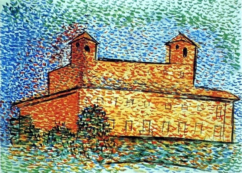 Picasso: Villa Medici