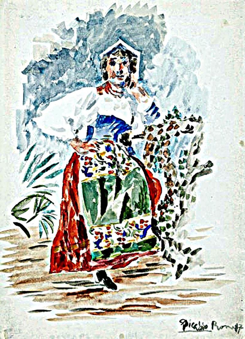 Picasso: Olasz nő I.