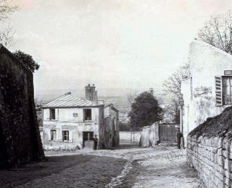 A Maison Rose 1870-ben