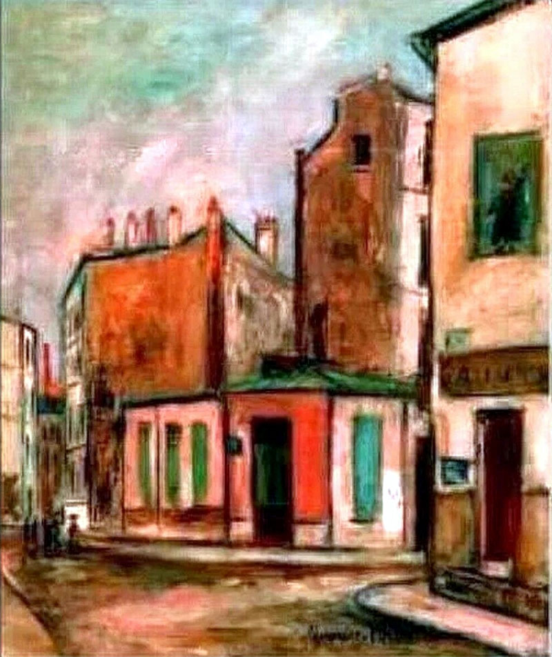 Utrillo: La Maison Rose
