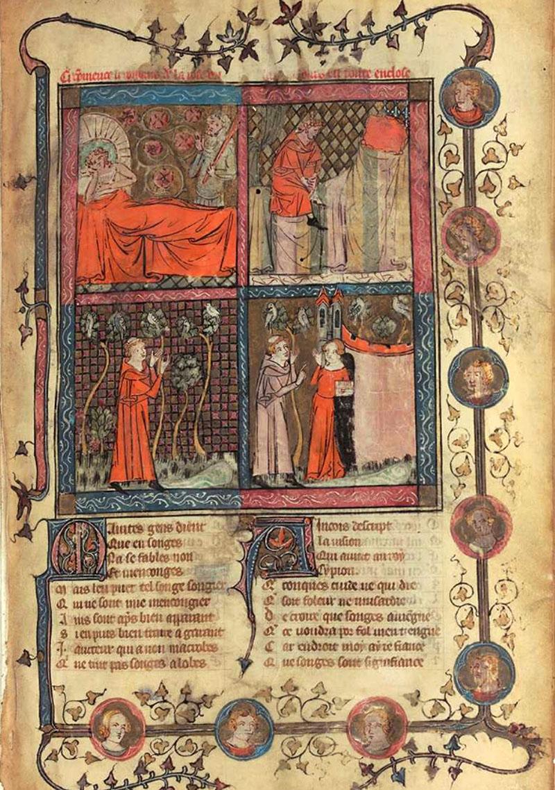 Rózsaregény 1362-ből