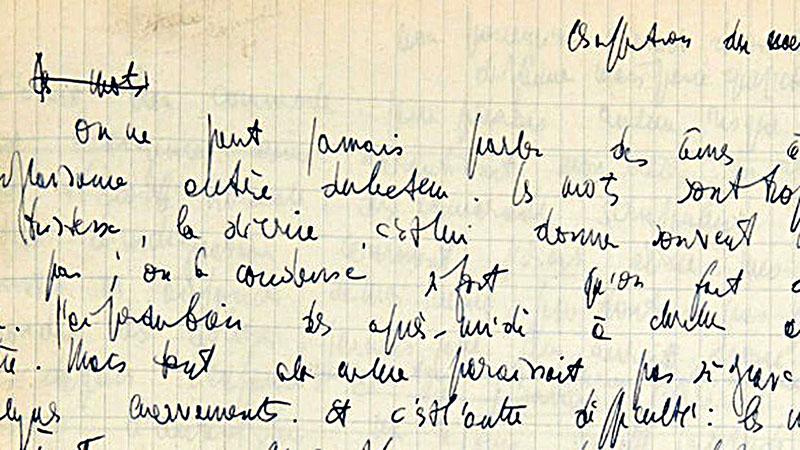 Sartre: A szavak. Kézirat