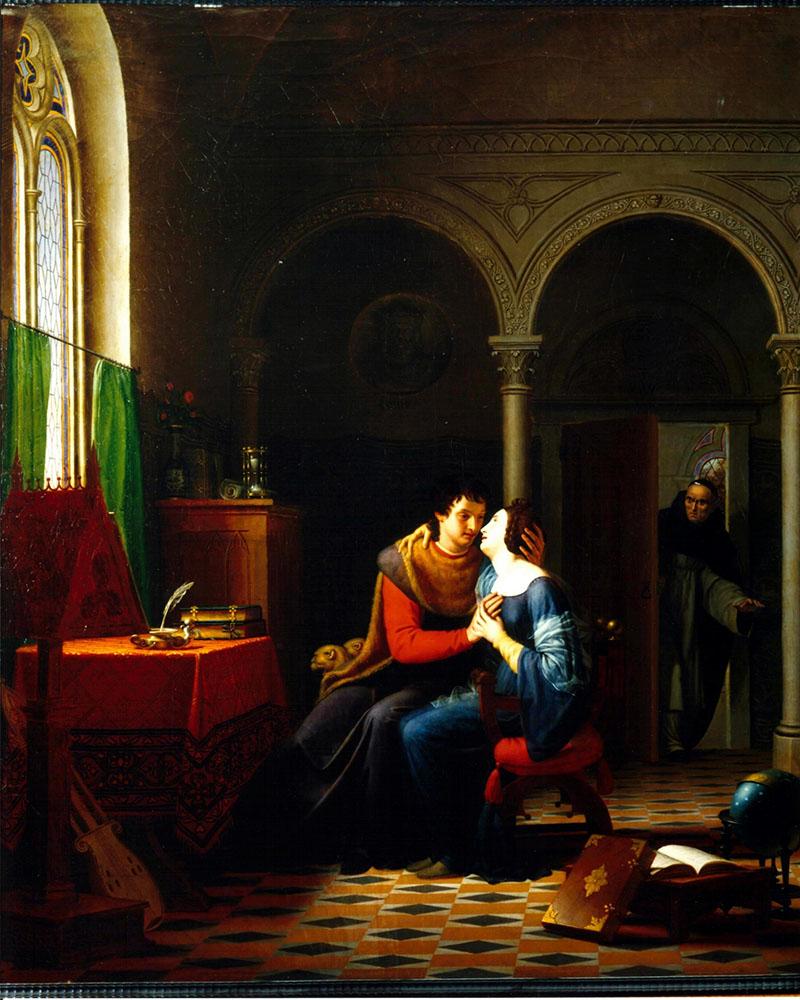 Jean Vignaud: Héloïse és Abelard