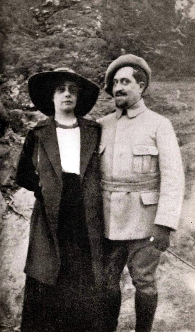 Apollinaire és Madeleine Pagès