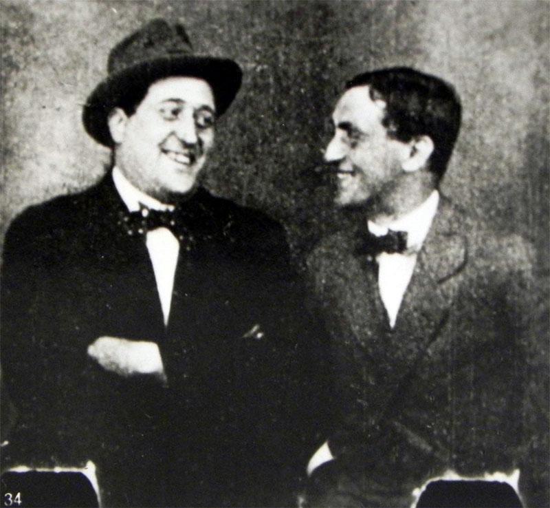 Apollinaire és André Rouveyre