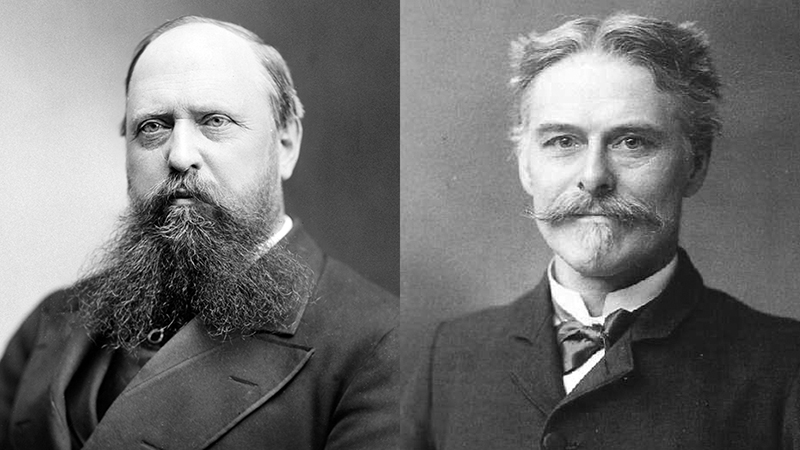 Othniel Charles Marsh és Edward Drinker Cope