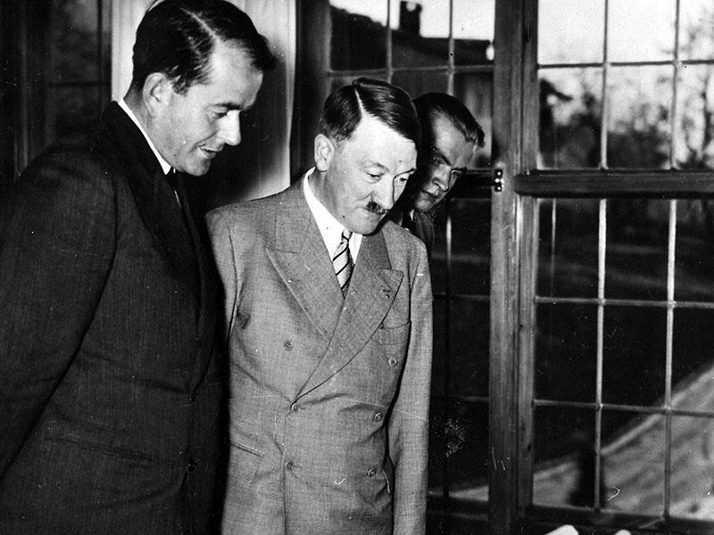 Speer Hitler társaságában