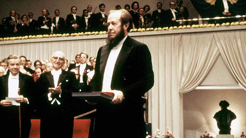 Szolzsenyicin a Nobel-díjjal