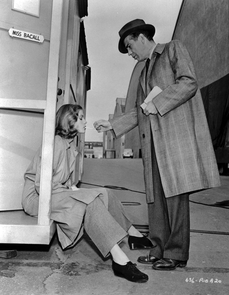 Bacall és Bogart ekkor már házaspárként