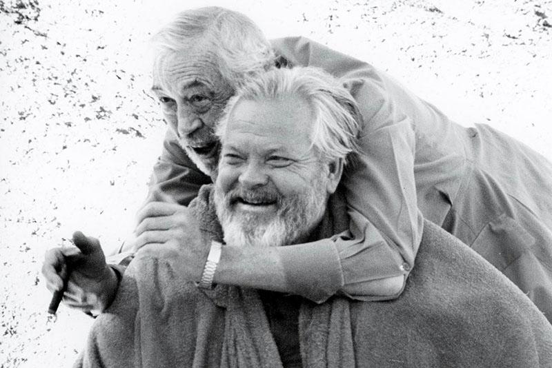 Orson Welles társaságában
