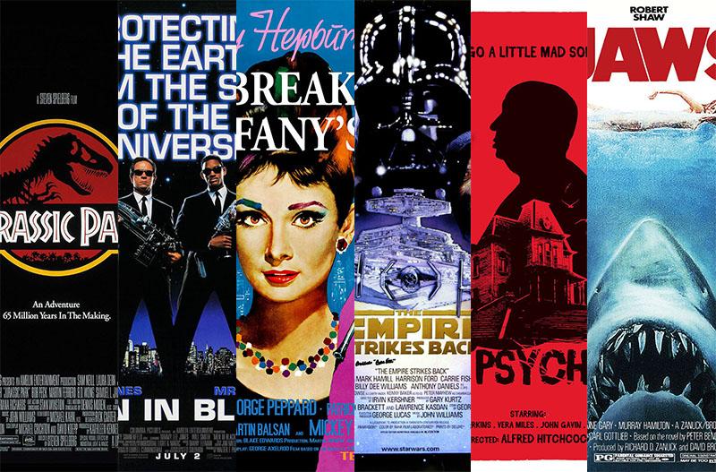 Ikonikus jelenetek, ikonikus filmekből