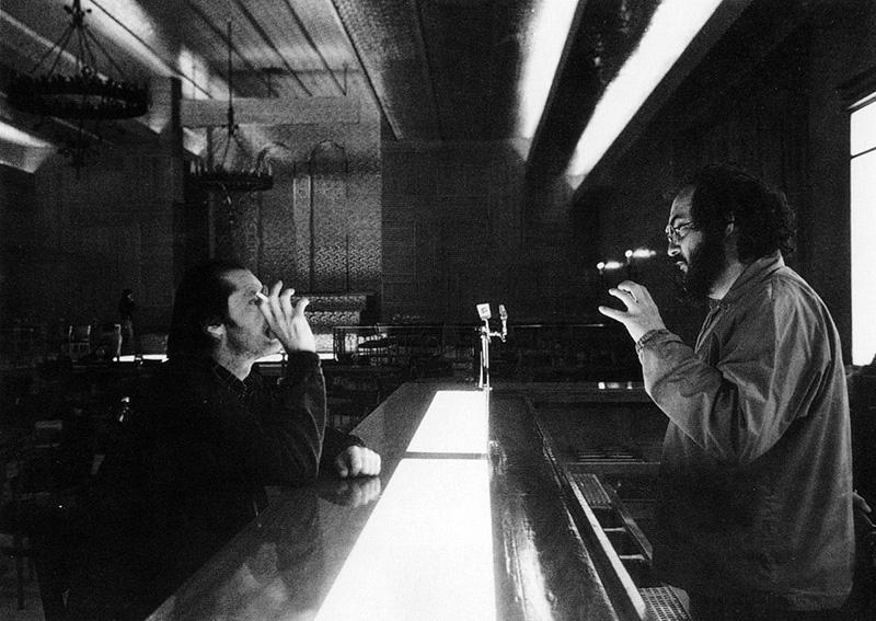 Stanley Kubrick a Ragyogás forgatásán