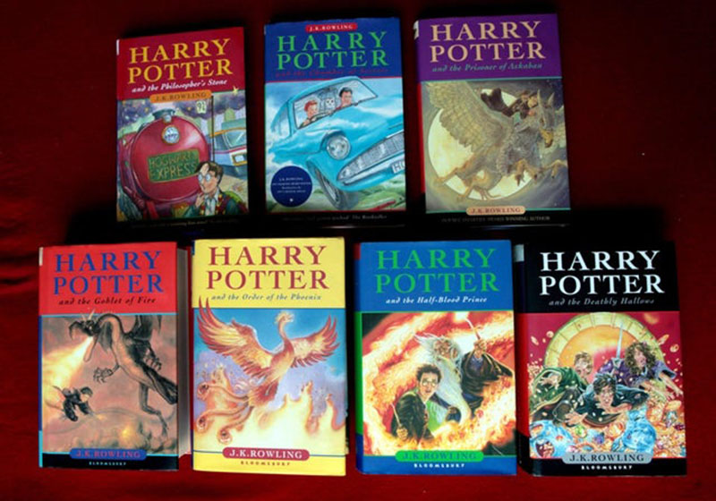 J. K. Rowling: Harry Potter 2-3-4-5-7