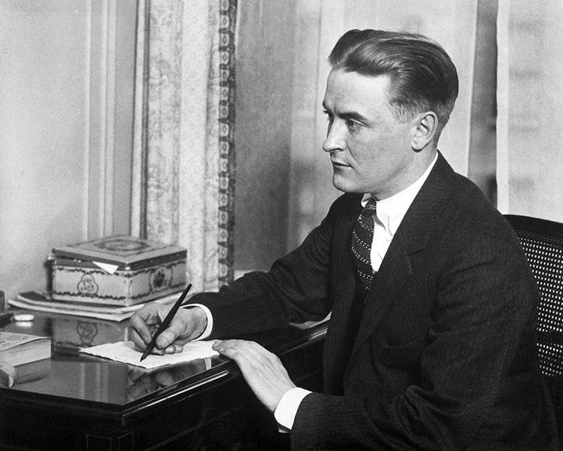 F. Scott Fitzgerald az 1920-as évek közepén