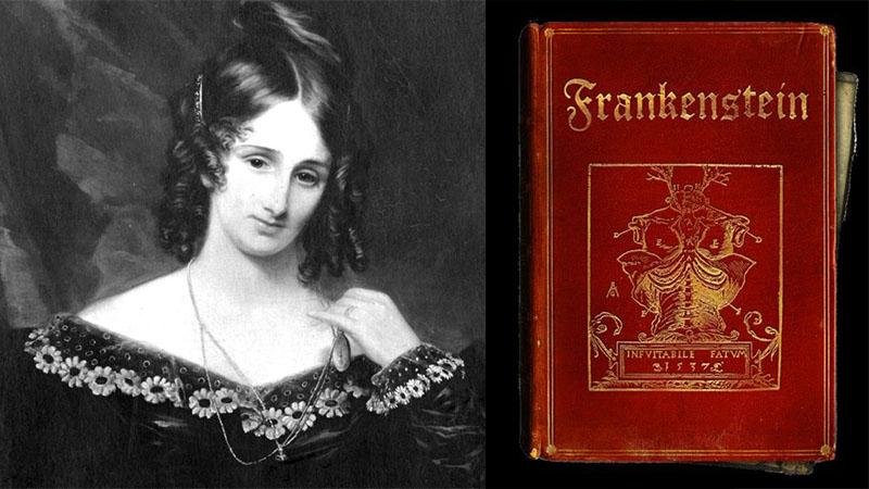 Mary Shelley, és műve, a Frankenstein első kiadása