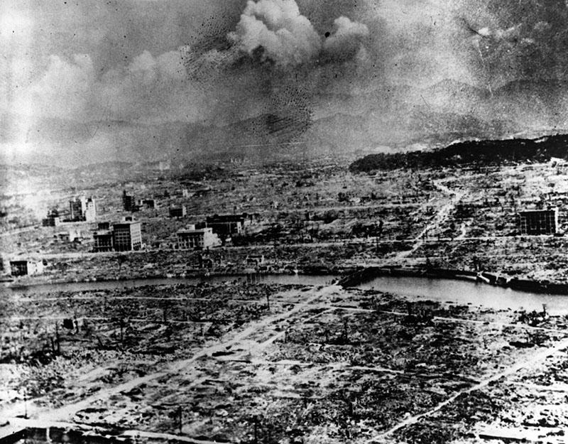 Hiroshima a robbanás után