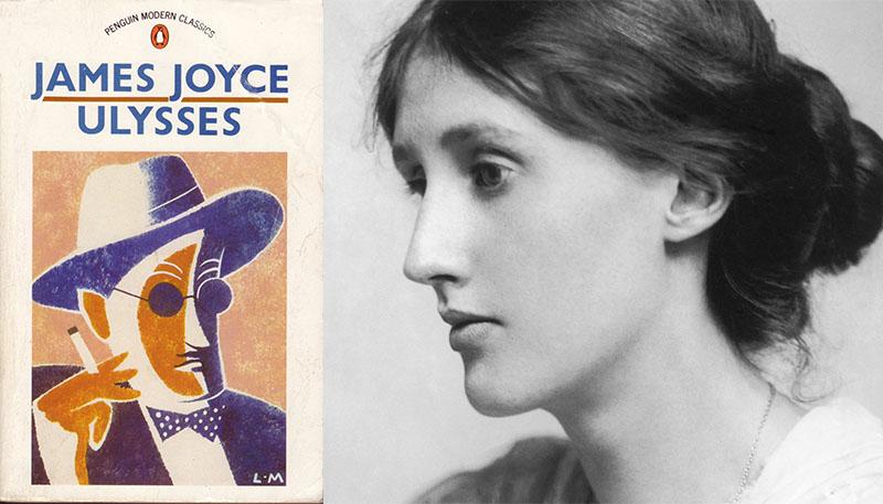 Virginia Woolf és James Joyce regénye, az Ulysses