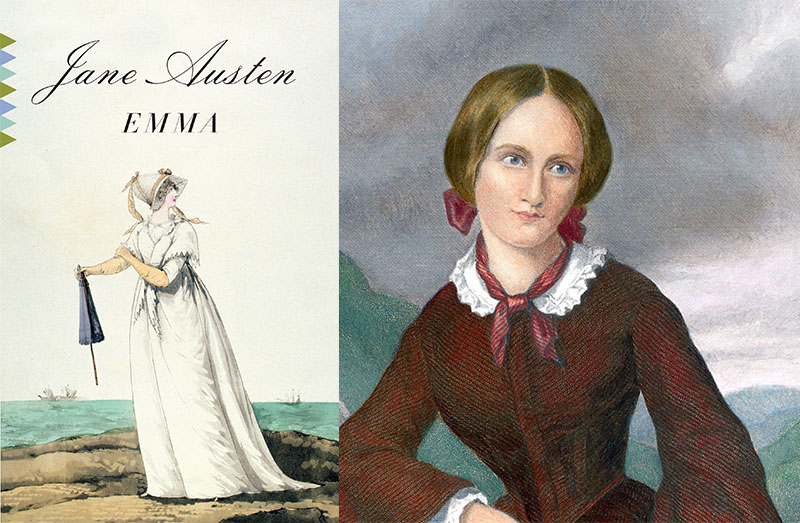 Charlotte Bronté és Jane Austen regénye, az Emma