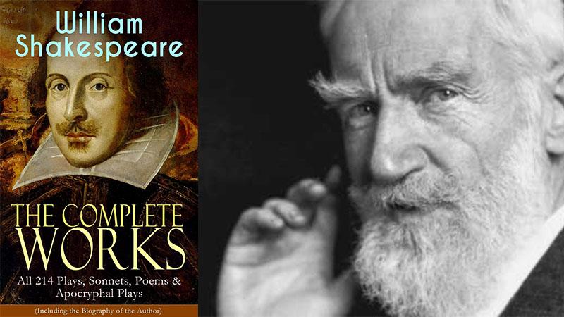 George Bernard Shaw és William Shakespeare teljes életműve