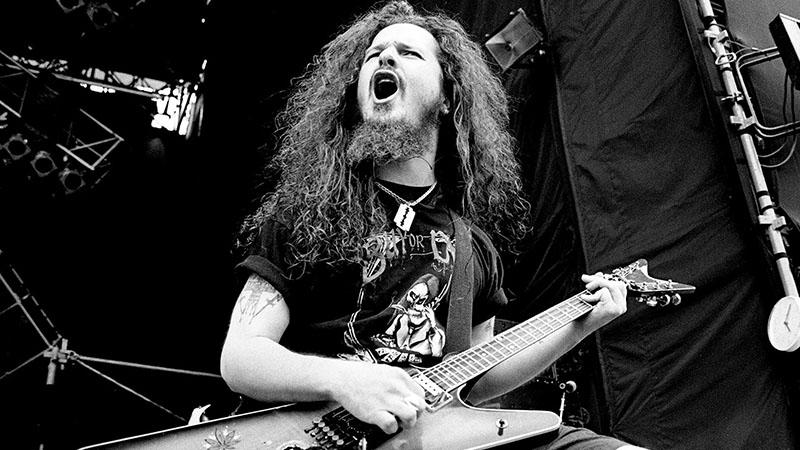 Dimebag Darrel, a Pantera egykori gitárosa