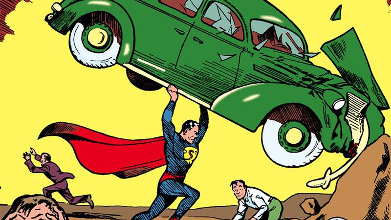 Az Action Comics első száma 1938 júniusában jelent meg