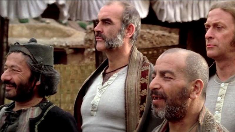 Kell egy csapat: Saeed Jaffrey, Sean Connery, Doghmi Larbi és Michael Caine