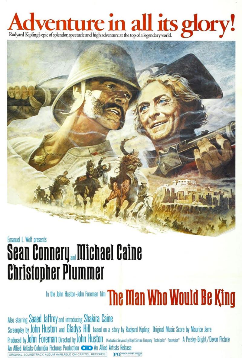 Aki király akart lenni (1975)